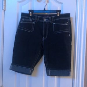 Angels Long Jean Shorts